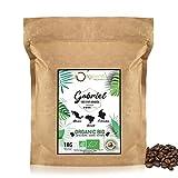 BIO Kaffeebohnen | Biologische Arabica Kaffee Ganze Bohnen | Traditionelle Röstung | 1kg
