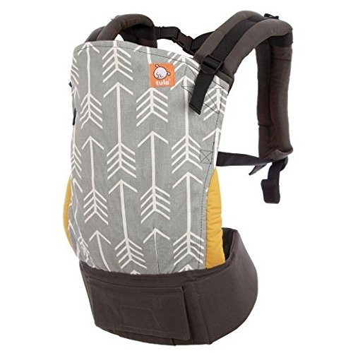 Ergonomic baby carrier Tula Standard Baby ARCHER Front and back From newborn to child Safe With Hood 7 - 20 kg  TULA
