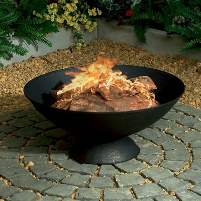 22 Cast Iron Firebowl Firepit Patio Heater by BBQ Land