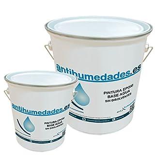 Epoxy Water Based antihumedades-4kg + 1kg, Green