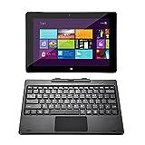 Lavoro o gioco, come la vostra regola L' iRULU Walknbook hybrid 2-in-1 tablet/laptop è dotato d'Intel quad core processore e l'ultimo sistema operativo di Windows 10. Esso offre la velocità e la reattività che servono per lavorare o gi...