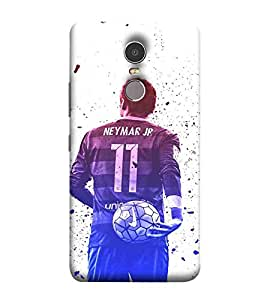 For Lenovo K6 Note man, football, footballar, sports man, sports Designer Printed High Quality Smooth Matte Protective Mobile Pouch Back Case Cover by BUZZWORLD