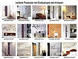 Exklusivpro Wandtattoo Spruch Wand-Worte Ein bisschen Vertrauen, ein bisschen mehr Wir inkl. SWAROVSKI (zit40 pink) 120 x 36 cm mit Farb- u. Größenauswahl