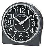 Seiko Unisex Wecker Analog schwarz QHE137K