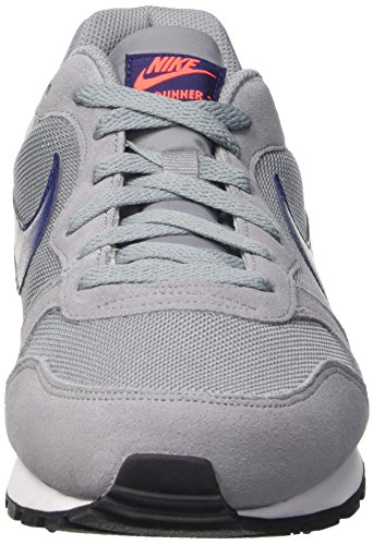 Nike  Md Runner 2, Gymnastique  homme Gris (Stealth/Lyl Bl Ttl Crmsn White)