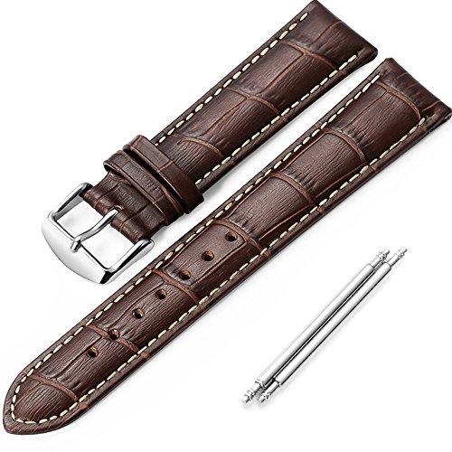 istrap-18mm-replacement-calf-leather-strap-crocodile-grain-watch-band-accessories-brown