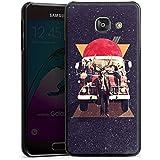 Samsung Galaxy A3 (2016) Housse Étui Protection Coque Cerf Hipster Chevreuil