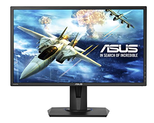 Asus 24-Inch Full Hd Freesync Gaming Monitor [Vg245H] 1080P, 1Ms Rapid Response Time, 75Hz, Dual Hdmi, Low Blue Light, Flicker Free Display With Pivot, Tilt And Swivel, Asus Eyecare