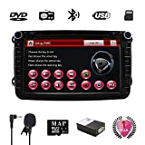 Golf Double Din 8 inch Car Stereo with DVD/ GPS Navigation/USB SD/FM /AM