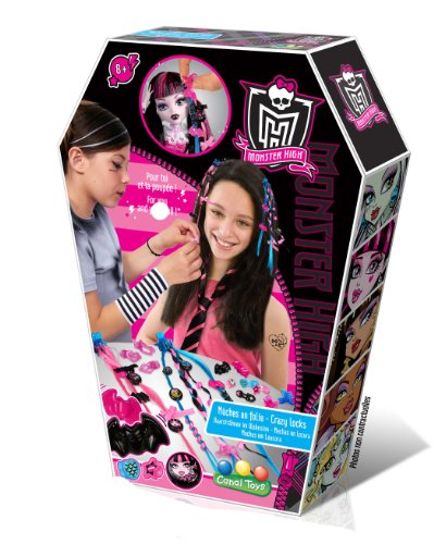 Monster High Kit Creative Recreation - Bits anpassen Spiele creativ