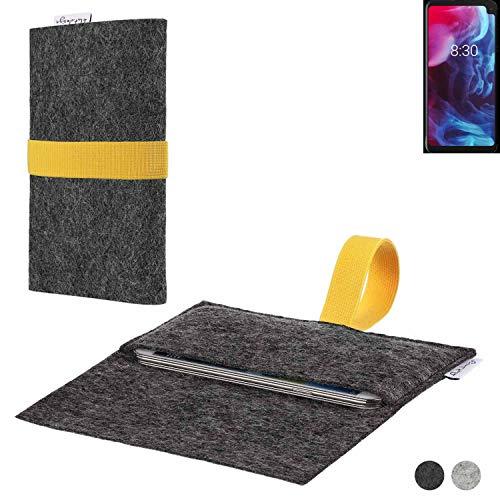 flat.design Handy Hülle Aveiro für Archos Oxygen 63XL passgenaue Filz Tasche Case Sleeve Made in Germany