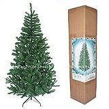 SHATCHI - Árbol de Navidad Artificial (1,5 m, 390 Puntas, con Soporte de Metal, decoración del hogar, plástico, 1,5 m)