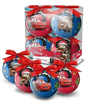 Disney 4 bolas de navidad de DISNEY