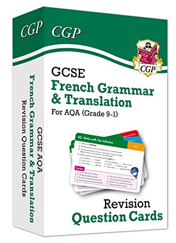 New Grade 9-1 GCSE AQA French: Grammar & Translation Revision Question Cards
