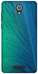 The Racoon Grip printed designer hard back mobile phone case cover for Gionee Marathon M4. (Ocean Spra)