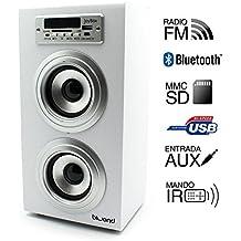 Reproductor JoyBox Bluetooth Blanco Biwond