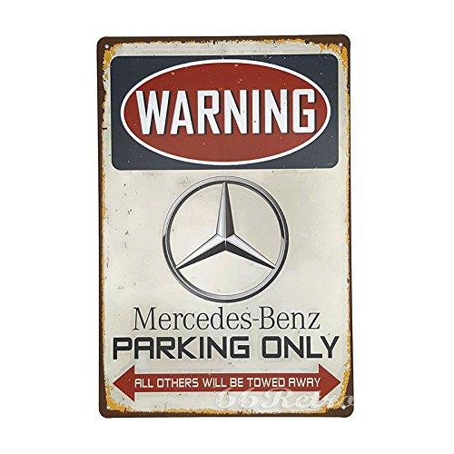 66retro-mercedes-benz-parking-only-vintage-retro-metall-blechschild-wand-deko-schild-20-cm-x-30-cm
