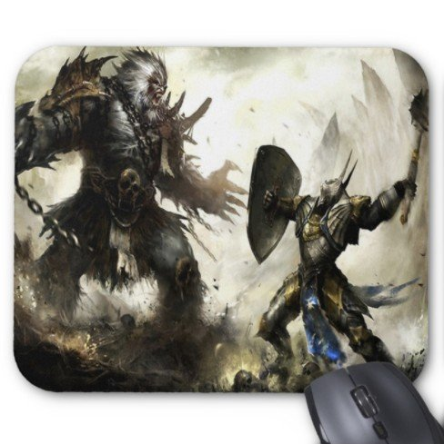 Mountain View Under The Stars Mouse Pad 7x8.66 Inch
