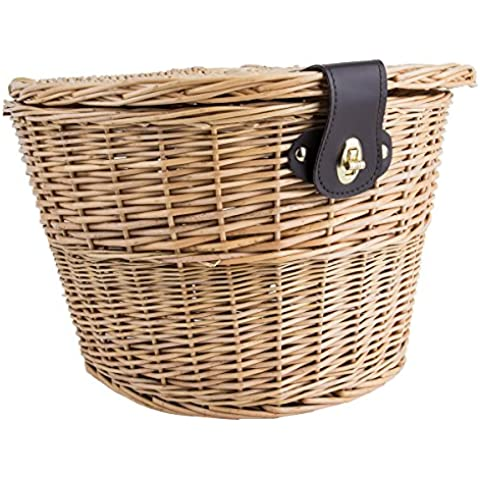 Sunlite Willow Picnic Basket, 14.5 x 10.5 x 9, Natural by (Woven Willow Picnic Basket)