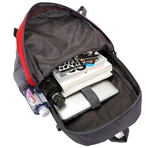 HCLHWYDHCLHWYD-casuale borsa a tracolla afflusso di sesso femminile studenti delle scuole superiori borsa del computer dello zaino di sport all'aria aperta uomini borsa zaino alpinismo multifunzionali 2