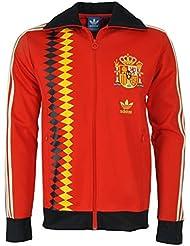adidas Originals para hombre Chaqueta de España, color Poppy, tamaño mediano