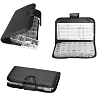 Megaprom Pillendose 7-Tage/4 Tageszeiten Pillenbox Tablettendose Tablettenbox Pillentasche mit Etui preisvergleich bei billige-tabletten.eu