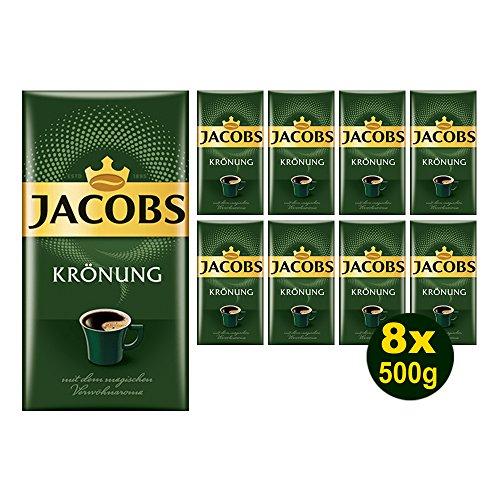Jacobs KRÖNUNG gemahlen 8x 500g (4000g) - Jacob's Filterkaffee, Kaffee