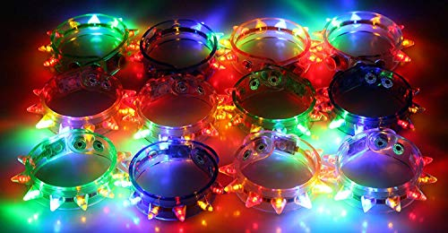 D Spike Bracelets (2 Dozen - 24 Pcs) ()