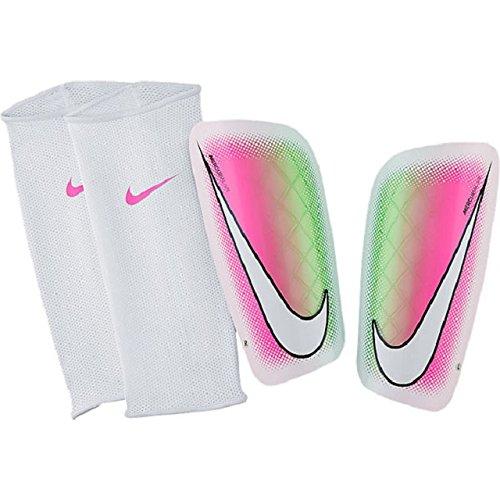 Nike MERCURIAL LITE - Parastinchi Unisex, Bianco, S