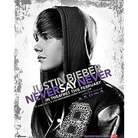 Justin Bieber - Never Say Never Oben Mini-Poster Print, 41x51