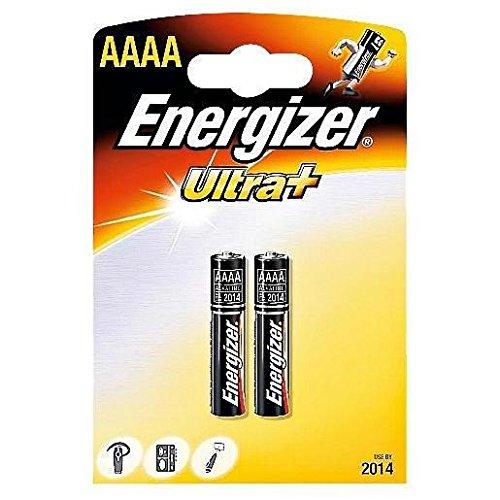 ENERGIZER UltraPlus FSB-2 Battery Alkaline Quad AAAA E96 1.5 V Ref 624625 [Pack 2]