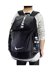 Nike Hoops Elite Max Air BP GR - Sac à Dos Unisexe, Negro/Gris/Plata (Black/Wlfgry/Metallic