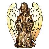 Tiffany Lampe Engel Lumilamp Tiffanylampe Tiffanyglas Dekoration Dekolampe Figurleuchte