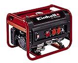 Einhell 4152540 Generatore di Corrente a Benzina, 2300 W, 230 V, Rosso, Nero, 15 Litri