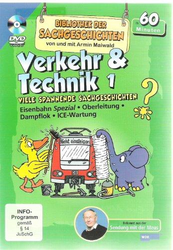 Verkehr & Technik 1 Bibliothek der Sachgeschichten WDR Maus