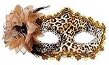 Maskarade Maske Wolf Leopard