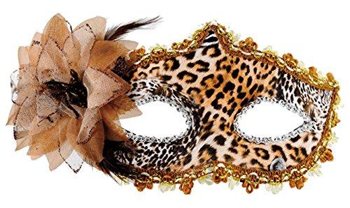 Maskarade Maske Wolf Leopard (Leopard Maske Kostüm)