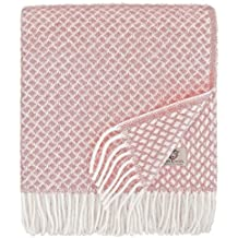 Linen   Cotton Plaid Couverture en Laine, Couvre-Lit de Luxe SOFIA, 100 960f13879b2