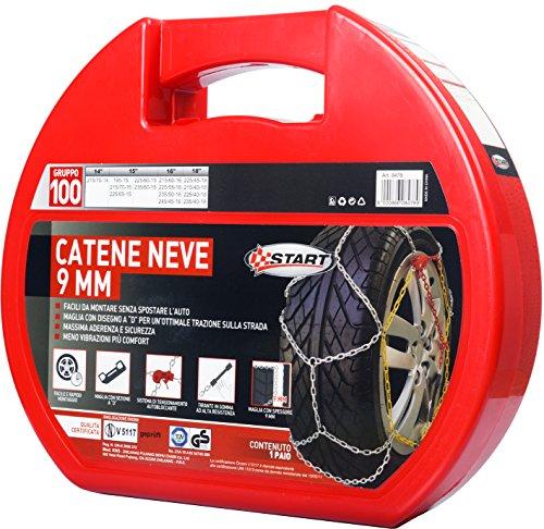 START-Catene-Neve-Start-9-Millimetri-Gruppo-100-Manutenzione-Ed-Emergenza-Auto
