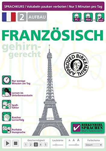 Birkenbihl Sprachen: Französisch gehirn-gerecht, 2 Aufbau