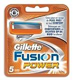 Gillette Fusion Power Rasierklingen, 5Stück