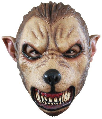 Generique - Böser Wolf Maske für Erwachsene Halloween (Halloween Böse Maske Wolf)