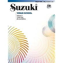 Suzuki Violin School Violin Part & CD, Volume 6     Violine     Buch & CD