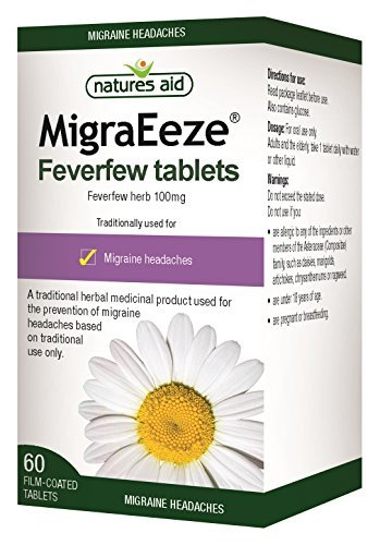 Natures Aid 100 mg MigraEeze Feverfew Test