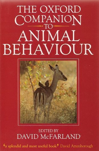 The Oxford Companion to Animal Behaviour