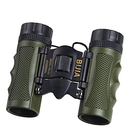 ZMMHW Mini-Outdoor-Klappteleskop BAK4 FMC Porfessional Jagdoptik Fernglas