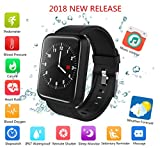 Fitness Tracker 2018, IP67 Waterproof Big Colour Screen Activity Tracker with 8 Sports