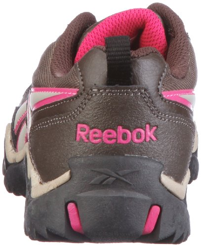 Reebok  Run the Mud, chaussures de sport mixte enfant Run The Mud earth/charcoal brown/khaki/overtly pin