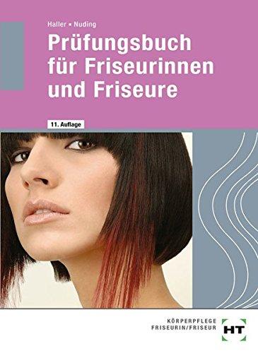 Prüfungsbuch für Friseurinnen und Friseure