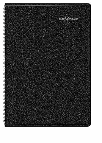 RECYCLED MONTHLY ACADEMIC PLANNER, BLACK, 7 7/8